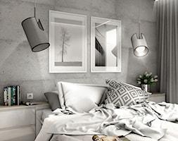 Projekt Mieszkania 62m2 - Warszawa Bemowo - Sypialnia, styl nowoczesny - zdjęcie od GoHome - Homebook