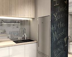 Projekt Mieszkania 86m2 - Warszawa Ursynów - Kuchnia, styl nowoczesny - zdjęcie od GoHome - Homebook