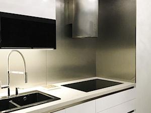 Projekt Kuchni Black&White 12m2 - Gdynia Orłowo