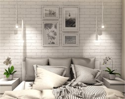 Projekt Mieszkania 86m2 - Warszawa Ursynów - Sypialnia, styl nowoczesny - zdjęcie od GoHome - Homebook