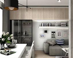Projekt Mieszkania 62m2 - Warszawa Bemowo - Kuchnia, styl nowoczesny - zdjęcie od GoHome - Homebook