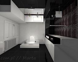Łazienka 8 - Mała łazienka w bloku bez okna, styl nowoczesny - zdjęcie od Salon Łazienek JACEK - Homebook
