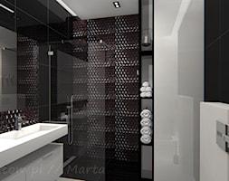Łazienka 8 - Średnia łazienka na poddaszu w bloku w domu jednorodzinnym bez okna, styl nowoczesny - zdjęcie od Salon Łazienek JACEK - Homebook