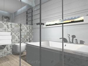 Łazienka dom jednorodzinny