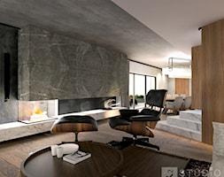 Aranżacja nowoczesnego domu - zdjęcie od K2studio