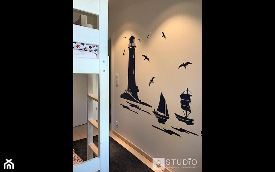 pokój dla dzieci w apartamencie w Sopocie - zdjęcie od K2studio