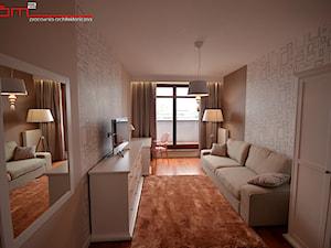 apartament 140m2 - Średni szary pokój dziecka dla chłopca dla dziewczynki dla ucznia dla nastolatka, styl klasyczny - zdjęcie od bm2 brzostek maciej