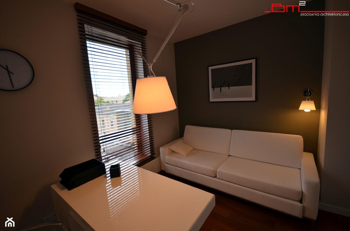 apartament 140m2 - Biuro, styl nowoczesny - zdjęcie od bm2 brzostek maciej - Homebook