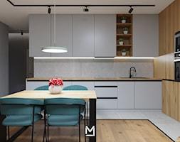 Apartament w Świeciu - Kuchnia, styl nowoczesny - zdjęcie od jaminska.pl - Homebook