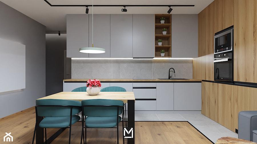 Apartament w Świeciu - Kuchnia, styl nowoczesny - zdjęcie od jaminska.pl