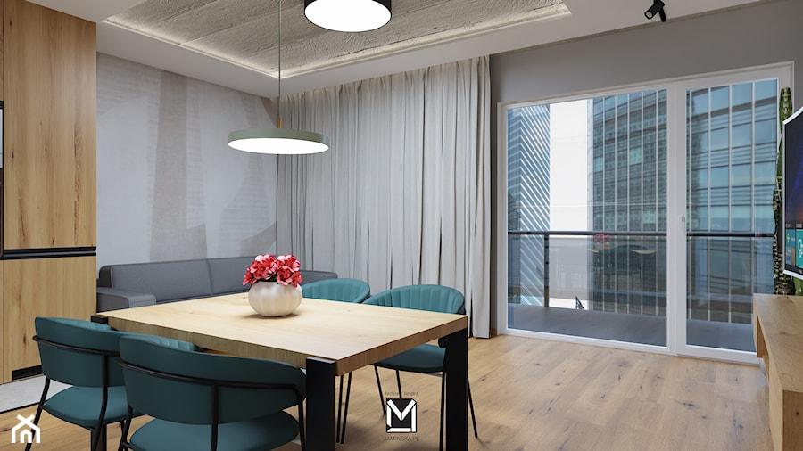 Apartament w Świeciu - Jadalnia, styl nowoczesny - zdjęcie od jaminska.pl