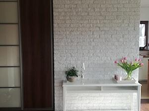 Kuchnie - Średni biały hol / przedpokój, styl rustykalny - zdjęcie od jaminska.pl