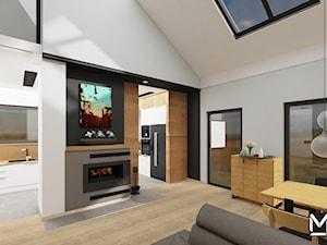 Projekt pomieszczeń wspólnych w domu jednorodzinnym