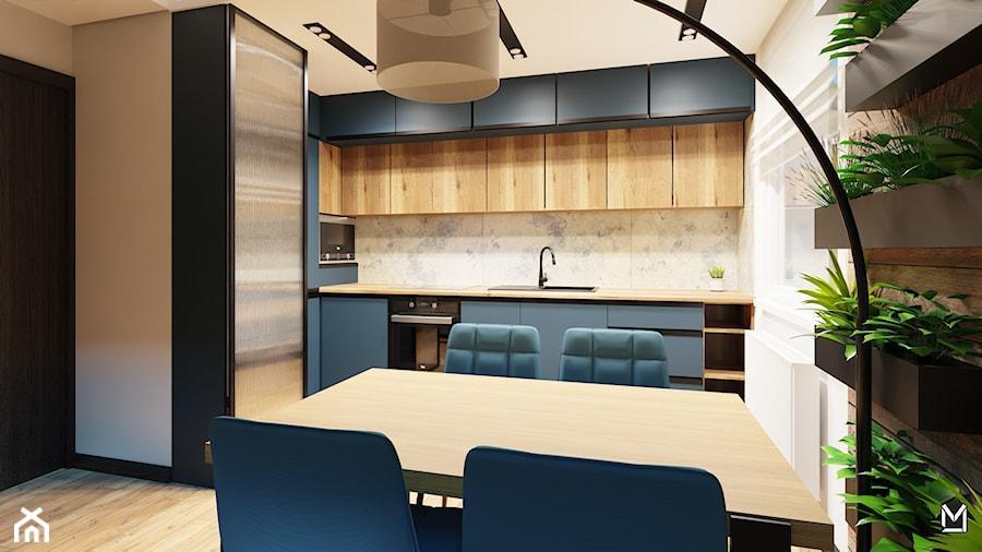 Niebieska kuchnia - zdjęcie od jaminska.pl