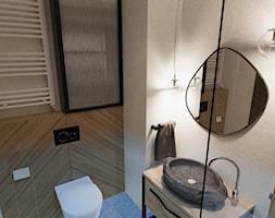 Łazienka z organicznymi elementami - zdjęcie od jaminska.pl - Homebook