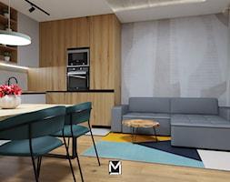 Apartament w Świeciu - Jadalnia, styl nowoczesny - zdjęcie od jaminska.pl - Homebook