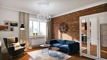 Welurowa sofa w salonie. Zobacz niezwykle stylowe propozycje