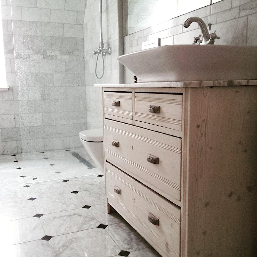 łazienka Na Dolnym Piętrze Powstała Z Połączenia Spiżarki I