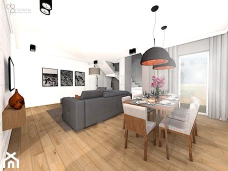 Aranżacje wnętrz - Salon: industrialny salon w domu - Salon, styl industrialny - dopracownia architektoniczna. Przeglądaj, dodawaj i zapisuj najlepsze zdjęcia, pomysły i inspiracje designerskie. W bazie mamy już prawie milion fotografii!