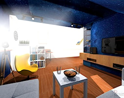 ciemna fototapeta na suficie - zdjęcie od dopracownia architektoniczna - Homebook