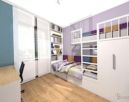 pokój dwóch dziewczynek - Pokój dziecka, styl nowoczesny - zdjęcie od dopracownia architektoniczna - Homebook
