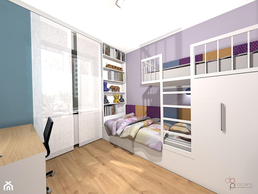 pokój dwóch dziewczynek - Pokój dziecka, styl nowoczesny - zdjęcie od dopracownia architektoniczna
