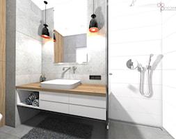 Łazienka w mieszkaniu - Łazienka, styl nowoczesny - zdjęcie od dopracownia architektoniczna - Homebook