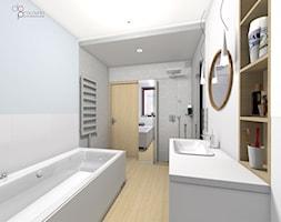 aranżacja łazienki - zdjęcie od dopracownia architektoniczna - Homebook