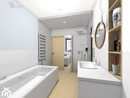 Aranżacje wnętrz - Łazienka: aranżacja łazienki - dopracownia architektoniczna. Przeglądaj, dodawaj i zapisuj najlepsze zdjęcia, pomysły i inspiracje designerskie. W bazie mamy już prawie milion fotografii!