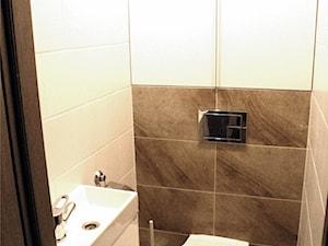 Łazienka i toaleta w bloku- totalna przemiana