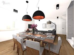 industrialny salon w domu