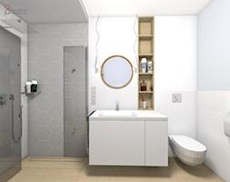 przechodnia kabina prysznicowa - zdjęcie od dopracownia architektoniczna - Homebook