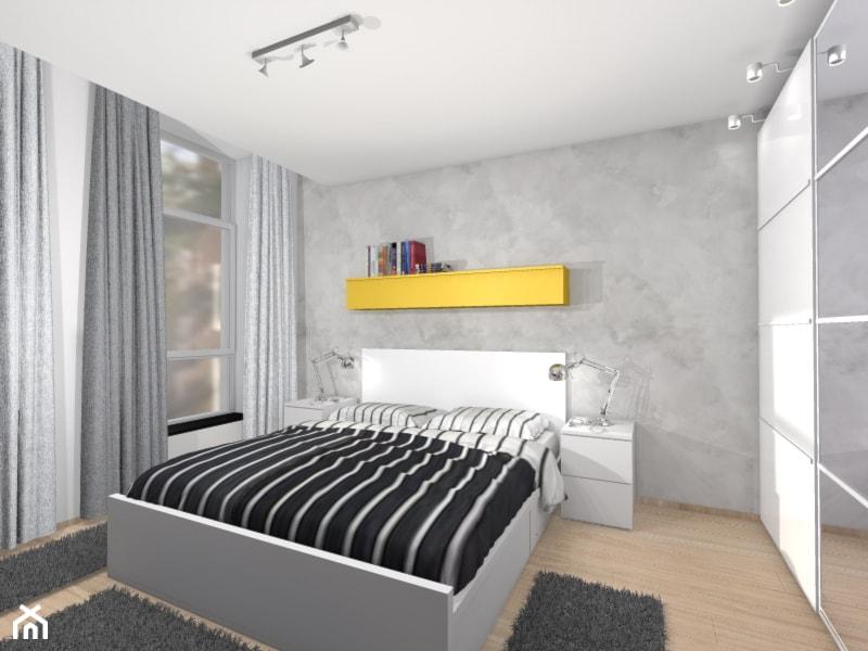 sypialnia zaaranżowana meblami z ikea zdjęcie od