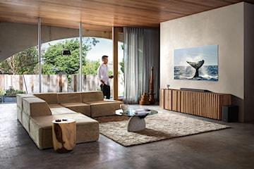 Telewizor w centrum inteligentnego domu