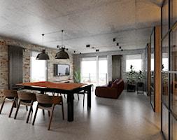 Loft Wałowa - Jadalnia, styl industrialny - zdjęcie od Pracownia Projektowa Decoretti - Agata Jachimowicz