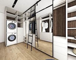 Dom w Baninie - Średnia garderoba oddzielne pomieszczenie, styl nowoczesny - zdjęcie od Pracownia Projektowa Decoretti - Agata Jachimowicz
