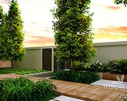 Nowoczesny ogród wodny - zdjęcie od Studio projektowe INSPIRACJE - Homebook