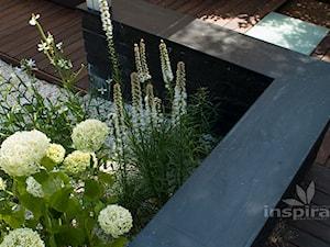 Ogród nowoczesny w Wilanowie - Średni ogród, styl nowoczesny - zdjęcie od Studio projektowe INSPIRACJE