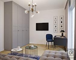 Eleganckie wnętrza w domu jednorodzinnym - Biuro, styl art deco - zdjęcie od O.Fiedorowicz
