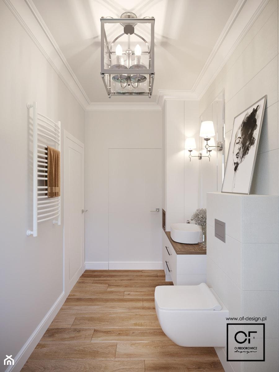 Dom pod Łodzią - Łazienka, styl klasyczny - zdjęcie od O.Fiedorowicz
