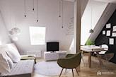 jasne mieszkanie na poddaszu