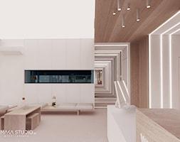 WMP - Duże białe biuro pracownia w pokoju - zdjęcie od MΛKΛ Studio