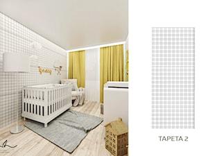 Musztardowy pokój dziecięcy - zdjęcie od Laura Zubel ARCHITEKT WNĘTRZ