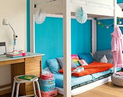 Podłoga laminowana Classic - Mały szary niebieski pokój dziecka dla chłopca dla dziewczynki dla rodzeństwa dla ucznia dla malucha - zdjęcie od Quick Step