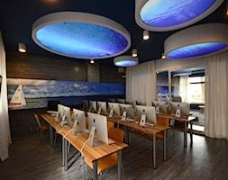 Morskie Opowieści - sala szkolna informatyczna - zdjęcie od Arkadiusz Grzędzicki projektowanie wnętrz