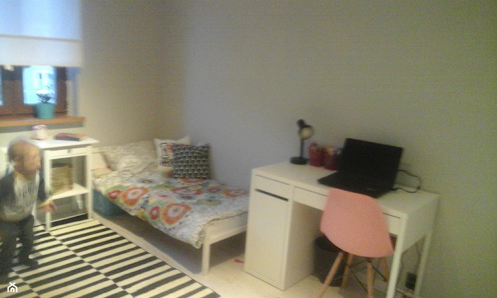 pokoj rodzeństwa 12m2 mieszkanie w bloku - Pokój dziecka, styl nowoczesny - zdjęcie od justyna1990 - Homebook