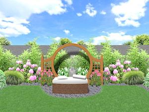 Niewielki ogródek w stylu japońskim