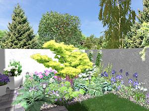 Mały ogródek miejski