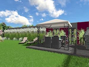 Ogród pełen traw / Bezrzecze - Duży ogród za domem - zdjęcie od OGRÓD & WNĘTRZE