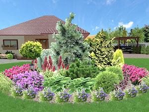 Ogród w stylu klasycznym w Grzędzicach